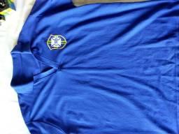 Camisa retrô Seleção Brasileira 1958