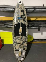 Camuflada: prancha de kitesurf