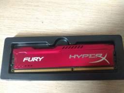 Memória HyperX Fury 4GB 1866MHz DDR3