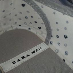 Tênis ZARA: NOVO - Tam: 40 (br) - Branco e Cinza