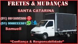 Fretes-Mudanças Para Santa Catarina
