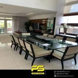 CASA MOBILIADA COM 4 dormitórios para alugar, 380 m² por R$ 10.000/mês - Portal do Sol - J