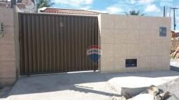 Casa com 2 dormitórios à venda, 70 m² por R$ 140.000,00 - Sol Nascente - Santa Rita/PB
