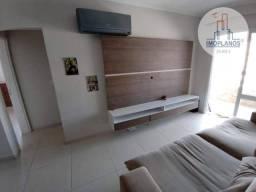 Excelente apartamento com 2 dormitórios sendo 2 suítes com hidromassagem à venda, 88 m² po