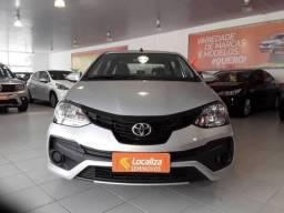 ETIOS 2019/2020 1.5 X PLUS SEDAN 16V FLEX 4P AUTOMÁTICO