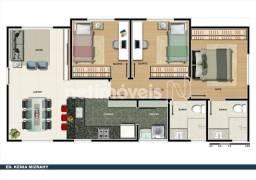 Apartamento à venda com 3 dormitórios em Colégio batista, Belo horizonte cod:737237