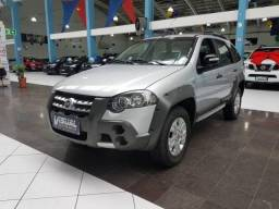 FIAT PALIO WEEKEND ADVENTURE 1.8 FLEX 4P AUTOMATIZADO 5M - 2011 - PRATA - 2011