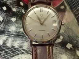Relógio Antigo Universal Microtor Automático Revisado