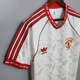 Camisa do manchester united Retrô