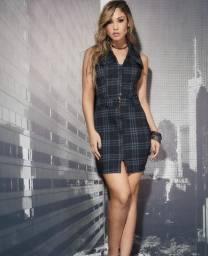 Vestido Xadrez - Lana Rosa