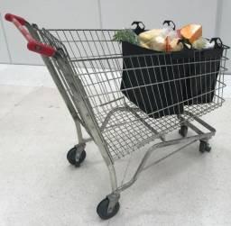 Troco ou vendo tenda e carrinho de mercado por geladeira