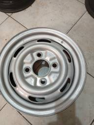 Título do anúncio: Roda de ferro original Volkswagen Brasília aro 14 Fusca