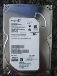 HD Seagate Barracuda 500 GB.