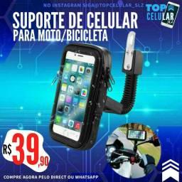 Suporte de celular para Moto Bike (*Entrega GRÁTIS)