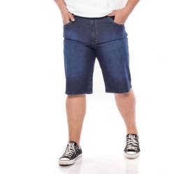 Bermuda Jeans Tamanho Grande