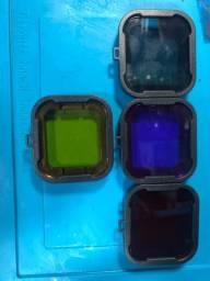 Lente filtro para mergulho GoPro