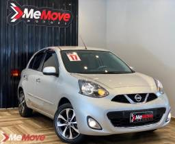 Nissan March 1.6 SV Automático 2017 30mil km Único Dono