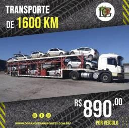Transporte de veículos com seguro total