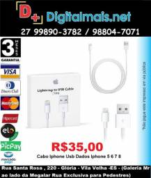 Cabo Iphone Usb Dados Iphone 5 6 7 8