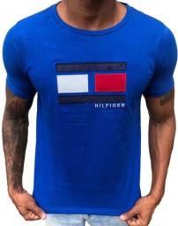 Camisa Tommy Hilfiger Peruana, 100% algodão, em fio 40.1