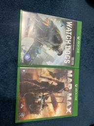 Watch Dogs e Mad Max XBOX ONE