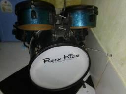 Bateria infantil rock kids RMV