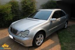Mercedes Benz C320 - 2001/2002 - Cinza - Impecável