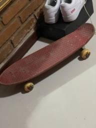 Skate Gloobe Cruiser Bantam Mini-longboard retrô vermelho
