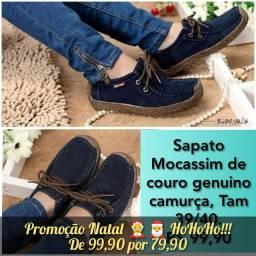 Sapatilhas e Sapato Mocassim