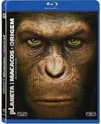 Blu ray lacrado .  Planeta dos macacos