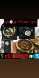 Relógio de luxo Winner dia dos namorados