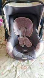 carrinho + bebe conforto tutty baby menina
