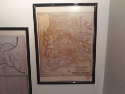 Quadros Mapas Coloniais