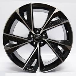 Título do anúncio: Jogo Roda Raw (Mc/A21) Audi Rs7 Aro 21x9,5 Preta Diamantada 5x112 Et 30