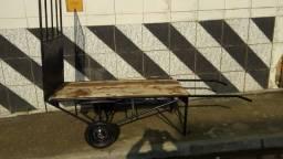 Burrinho sem rabo novo de pneu largo aguenta 500kg