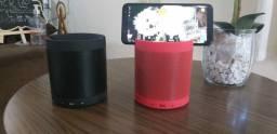 Caixa de Som Multifuncional com Apoio para Tablet e Celular /Sem fio/MP3/FM