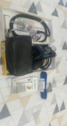 Estetoscópio/esfigmomanômetro/termômetro e garrote novos