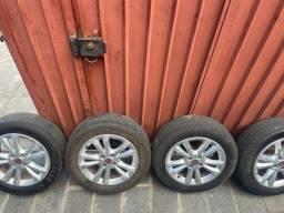Rodas 16 com pneu 205 55/16