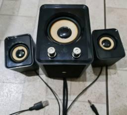 CAIXA DE SOM USB P2 SUPER POTENTE