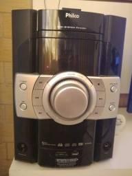 Vendo Micro System Philco  com Karaoke