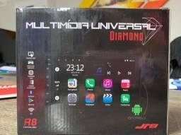 Multimídia com Android 10 R8