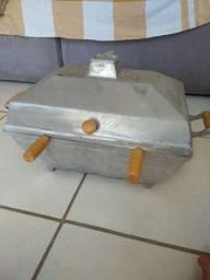 Título do anúncio: Churrasqueira portátil de alumínio fundido