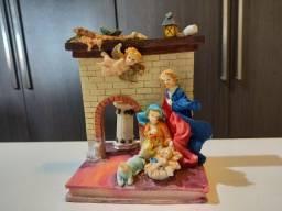 Escultura Religiosa Decorativa - Nascimento De Jesus