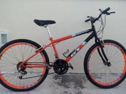 Bicicleta aro 26 GT agressor rodas aero