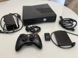 Xbox 360 Desbloqueado + HD Samsung 500GB Aceito Cartão