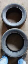 Título do anúncio: 2 pneus 245/45/16 CONTINENTAL