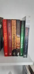 Desapego de coleção de livros DAN BROWN
