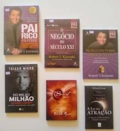 Vários Livros de Finanças a R$ 50,00 cada