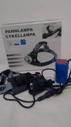 Lanterna bike cabeça recarregável//Adquirajá entrega grátis