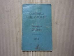 Manual Caminhão Chevrolet 1942